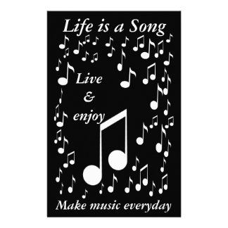 Life is a Song_Stationery Stationery