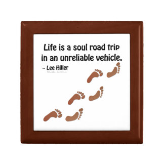 Life is a soul road trip in an unreliable vehicle trinket boxes