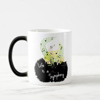 Life is a Symphony Mug