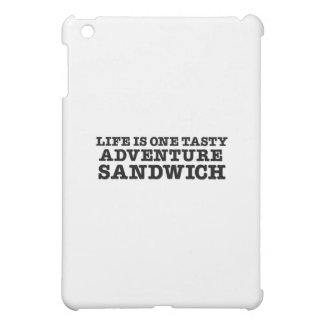 Life Is A Tasty Adventure Sandwich Cover For The iPad Mini