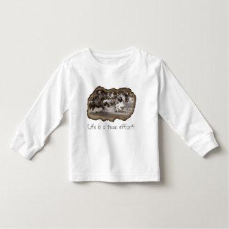 Life Is a Team Effort! Toddler T-shirt