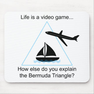 Life is a video game Mousepad