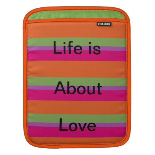 life is about love rickshaw_sleeve
