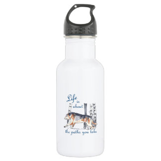 LIFE IS ABOUT PATHS 18OZ WATER BOTTLE