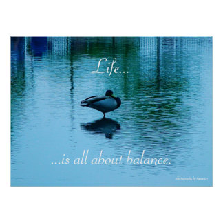 Life..., ...is all about balance poster