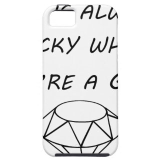 life is always rocky when you're a gem iPhone SE/5/5s case