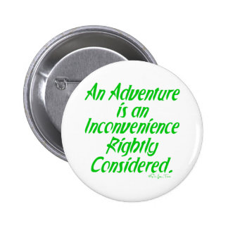 Life Is An Adventure 2 Inch Round Button