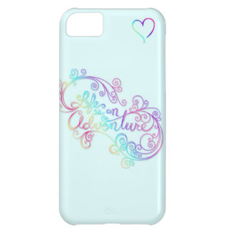 Life is an adventure case for iPhone 5C