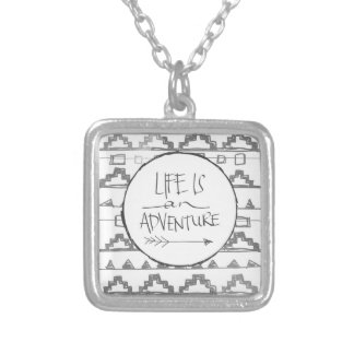 Life Is An Adventure Custom Necklace
