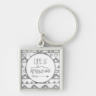 Life Is An Adventure Keychains
