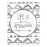 Life Is An Adventure Postcard