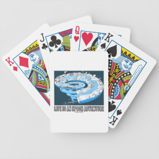 Life Is An Epoch Adventure (Geological Time) Poker Deck