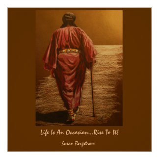 Life Is An Occasion...Rise To It! Poster