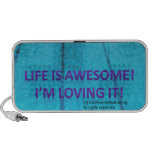 Life is Awesome iPod Speakers