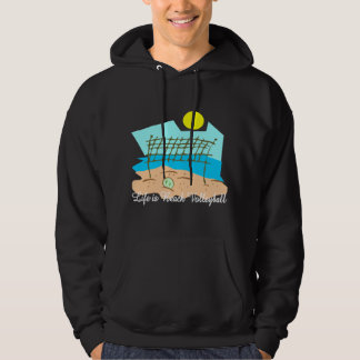 Life Is Beach Volleyball Black T-Shirt