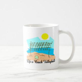 Life  Is Beach Volleyball Mug