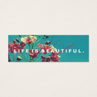 Life is Beautiful Acts Kindness Challenge Card