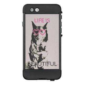 Life is beautiful case,LifeProof® NUUD® for iP LifeProof NÜÜD iPhone 6 Case