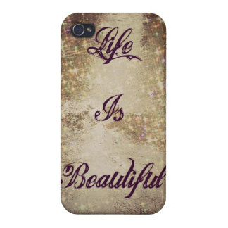 Life Is Beautiful IPhone 4/4s Case