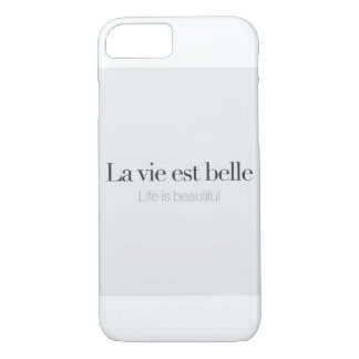 Life is beautiful. iPhone 7 case