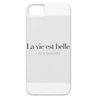 Life is beautiful. iPhone SE/5/5s case
