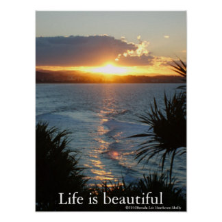 Life is Beautiful, poster. Poster
