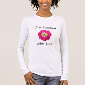 Life is Beautiful with Avon Shirt - Long Sleeve