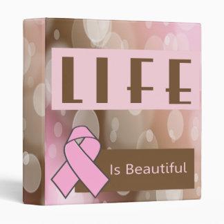 Life Is Beautiiful, Breast Cancer Survivor Binder