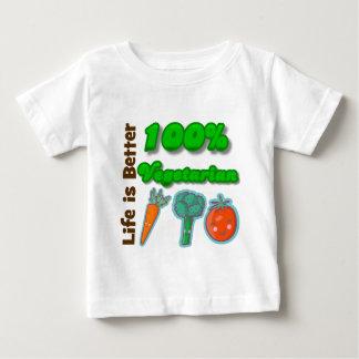 Life is Better 100 Percent Vegetarian Tshirts