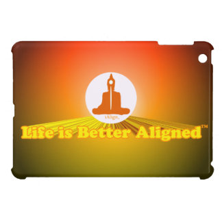 Life is Better Aligned ipad mini case with Buddha