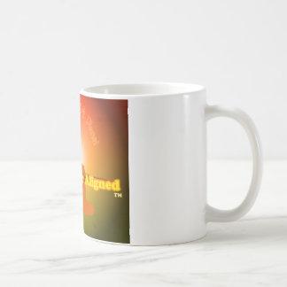 Life is Better Aligned mug
