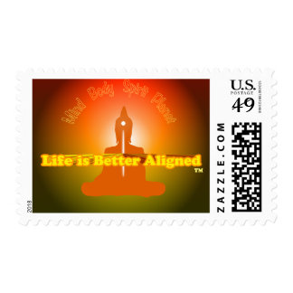 LIfe is Better Aligned stamp