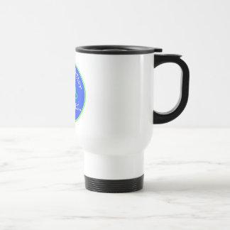 Life is Better Aligned travel mug