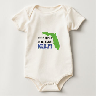 life is better at the beach delray baby bodysuit