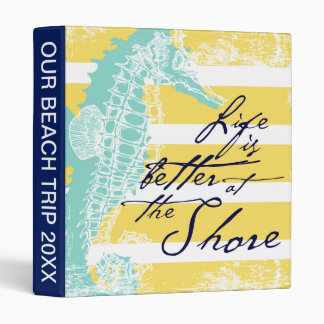 Life is Better at the Shore Binder
