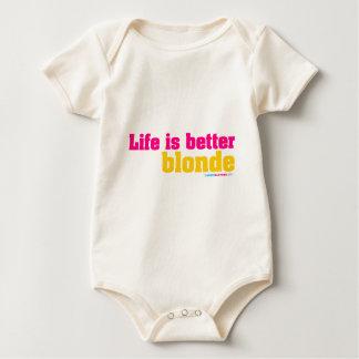 Life Is Better Blonde Bodysuit