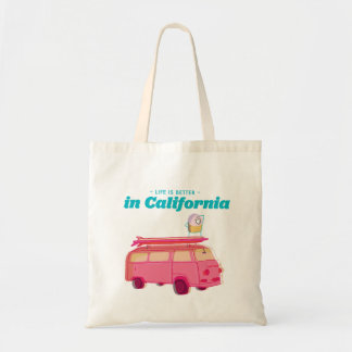 Life is better in California Budget Tote Bag
