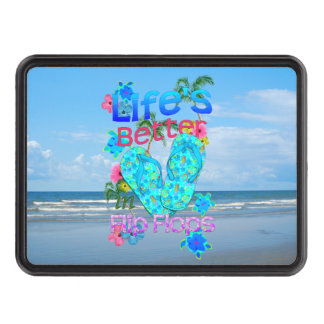 Life Is Better In Flip Flops Hitch Cover