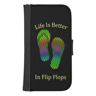 Life Is Better In Flip Flops Phone Wallet