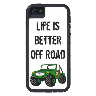 Life is Better Off Road Case For iPhone SE/5/5s