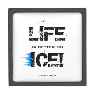 LIFE IS BETTER ON ICE! JEWELRY BOX