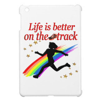 LIFE IS BETTER ON THE TRACK RUNNER DESIGN COVER FOR THE iPad MINI