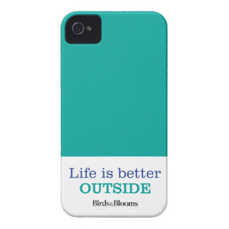 Life is Better Outside iPhone 4 Cover