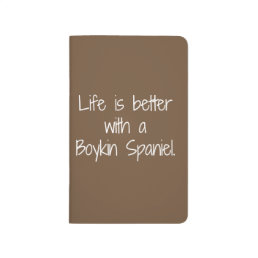 Life is Better Pocket Notebook