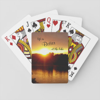 Life Is Better Sunlight Playing Cards