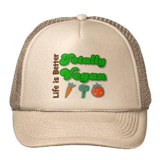 Life is Better Totally Vegan Trucker Hat