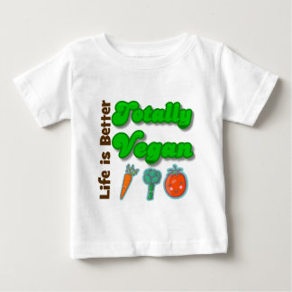 Life is Better Totally Vegan T-shirts