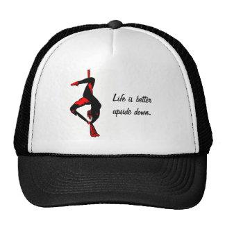 Life is better upside down trucker hat