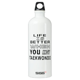 Life is better when you know Taekwondo SIGG Traveler 1.0L Water Bottle