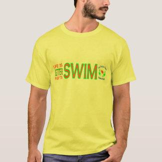 Life is Better When You Swim Tee w/Swim Club Logo